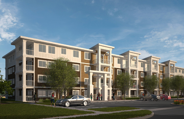 An artist's rendering of Sage Place by Cardel Lifestyles. Courtesy, Cardel Lifestyles.