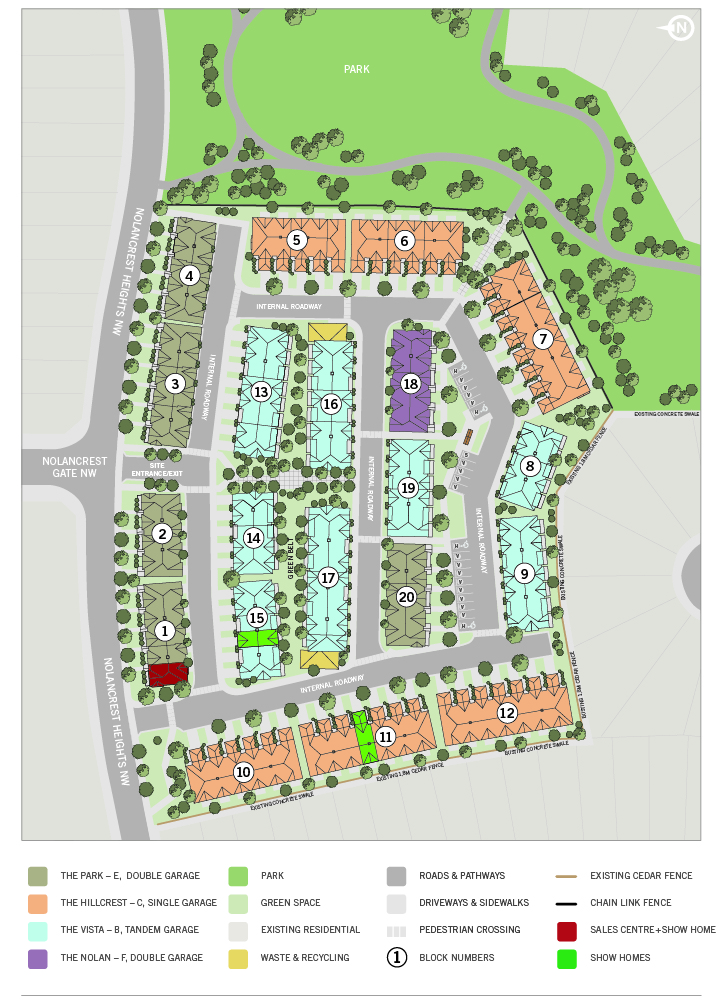 Site Plan Cardel Lifestyles