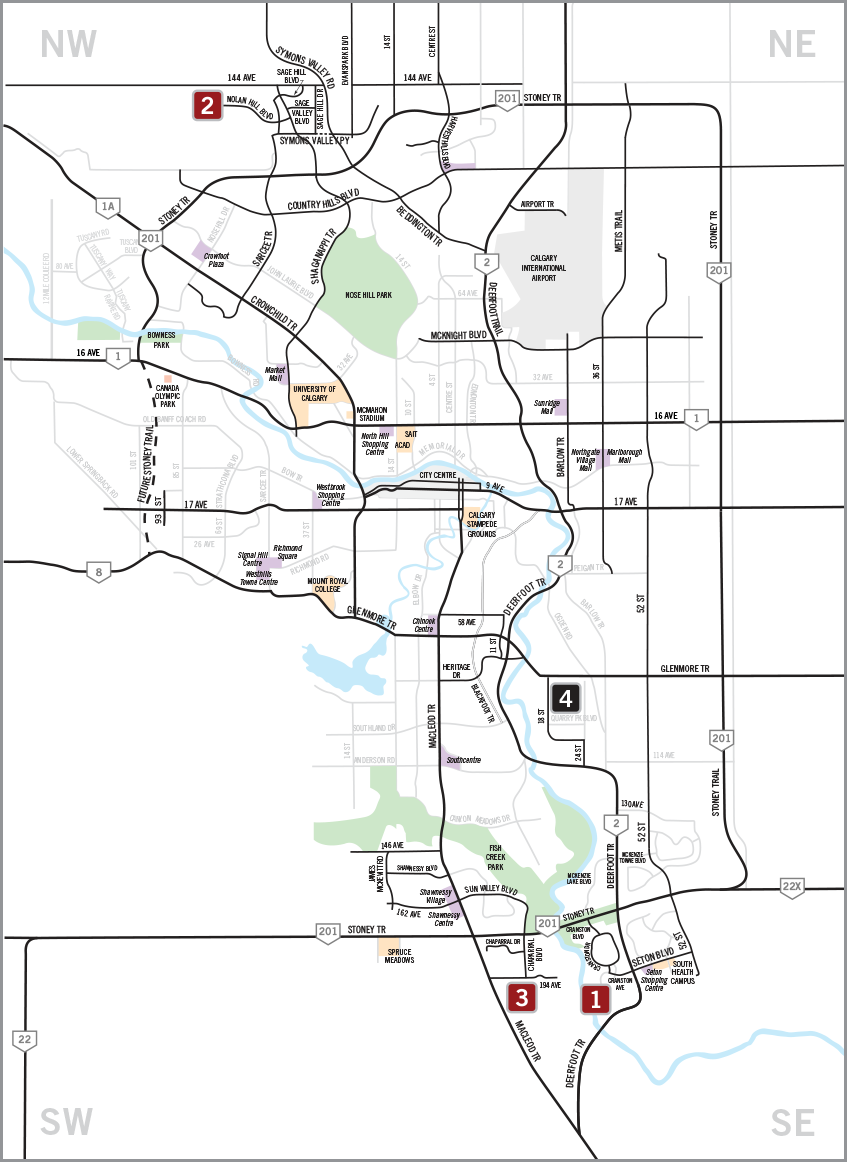 Cardel Lifestyles Community Map